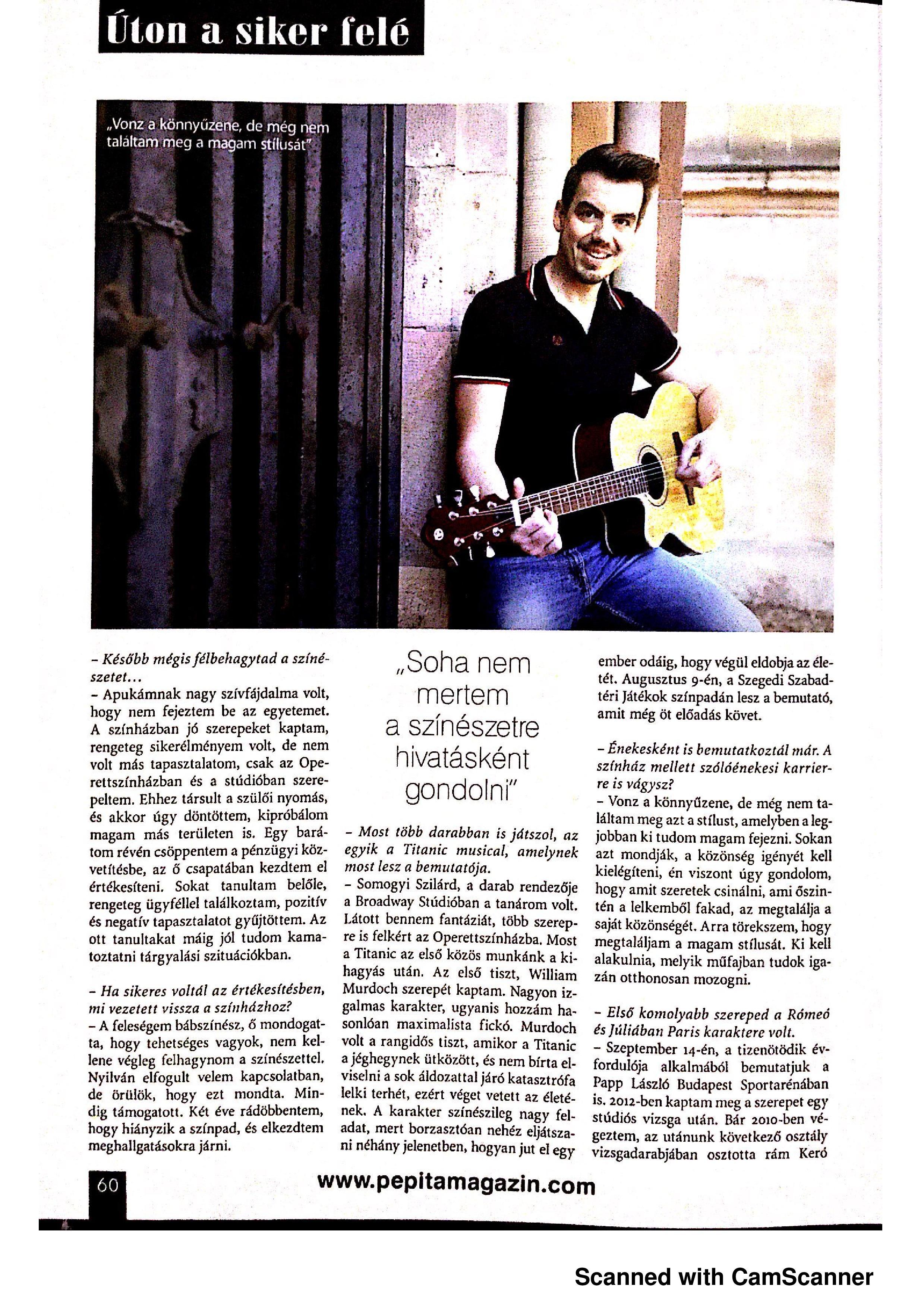 Pepita interjú - 2019.08 - 2. oldal